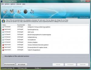 Ashampoo Core Tuner 2.01 - náhled