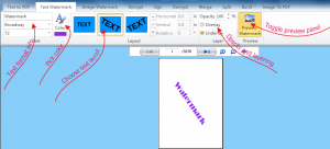 Batch PDF Watermark 1.0 - náhled
