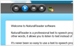 Free NaturalReader 11 - náhled