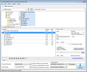 Magic MIDI to MP3 Converter 2.4.23 - náhled