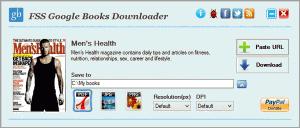 FSS Google Books Downloader 1.9.0.6 - náhled