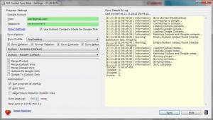 GO Contact Sync Mod 3.10.14 - náhled