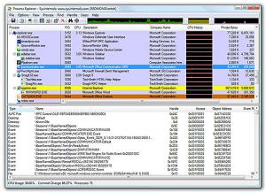 Process Explorer 16.12 - náhled