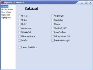 WinLock 2.2b - náhled