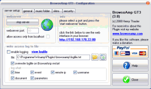 BrowseAmp GT3 3.1 - náhled