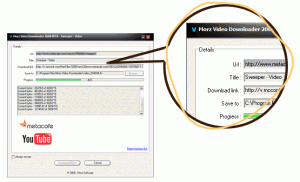 Morz Video Downloader 2009 - náhled