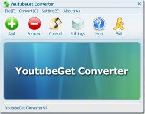 YouTubeGet 6.3.1 - náhled