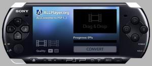 ALLConverter to PSP 1.3 - náhled