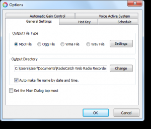 RadioCatch Web Radio Recorder 3.2.1 - náhled