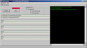 Daily backups 1.0 - náhled