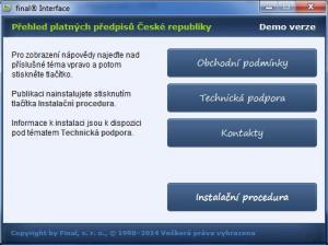 Přehled platných předpisů České republiky 22.01.0 - náhled