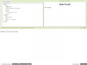 Tryit Editor 24.1 - náhled