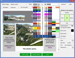 SenderMatic - náhled