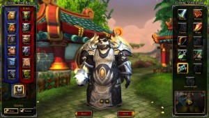 World of Warcraft Race Change - náhled