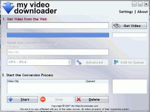 My Video Downloader 2.0 - náhled