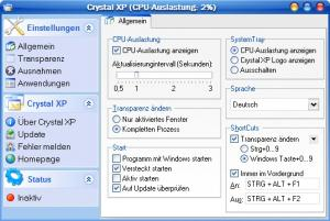 Crystal XP 0.21 PreBuild - náhled