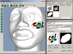 Pointshop3D - náhled
