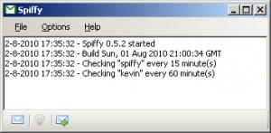 Spiffy 0.5.10 - náhled