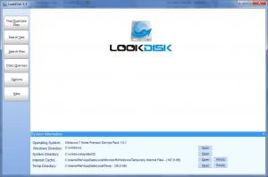 LookDisk Portable 6.4 - náhled