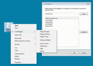 Cloudfogger 1.5.23 - náhled