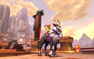 World of Warcraft Swift Windsteed - náhled