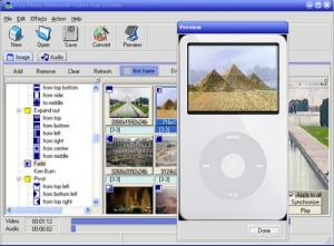 iPod Photo slideshow Maker 2.0 - náhled