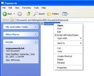 Ss Data Eraser 2.0 - náhled