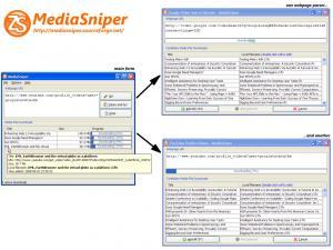 MediaSniper 3.0 - náhled