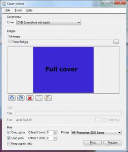 Cover Printer 1.4.0.1 - náhled