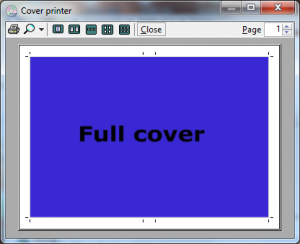 Cover Printer 1.4.0.1 - náhled