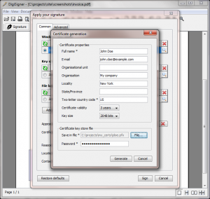 DigiSigner Pro 2.2 - náhled