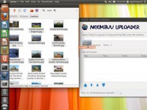 Neembuu Uploader 2.7 - náhled