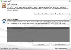 Toolwiz BSafe 1.6.0.0 - náhled
