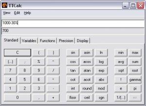 TTCalc 0.9.3 - náhled