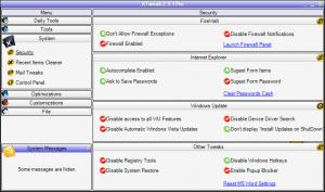 XTweak Pro 3.16 - náhled