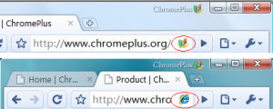 ChromePlus 1.6.0.0 - náhled
