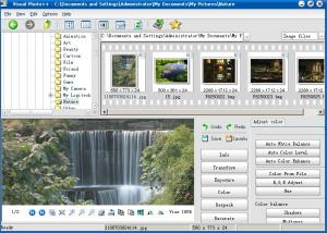 Visual Photo++ 1.00b - náhled