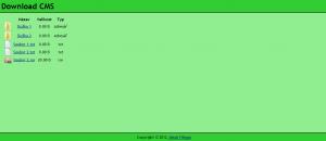 Download CMS 1.3 - náhled