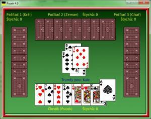 Karetní hra Pucek 4.0.1 - náhled