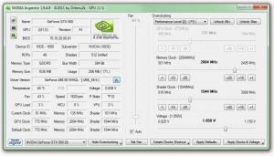 NVIDIA Inspector 1.9.7.8 - náhled