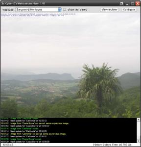 Cyber-D's Webcam Archiver 1.08 - náhled