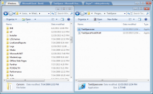 TaskSpace 0.5.0.0 - náhled