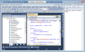 TaskSpace 0.4.0.0 - náhled