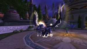 World of Warcraft Winged Guardian - náhled
