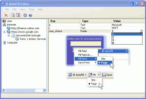 IE AutoFill 3.32 - náhled