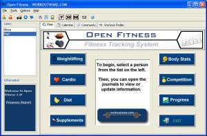 Open Fitness 2.0 - náhled