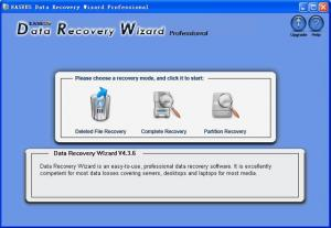 Data Recovery Wizard Professional 4.3.6 - náhled