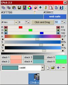CPick 2.7 - náhled