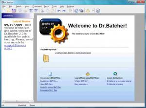 Dr.Batcher 2.1.5 - náhled