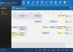 Runner´s Studio 3.1.0.0 - náhled